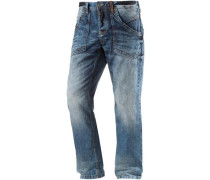 'Claymore' Straight Fit Jeans blau