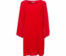 A-Linien-Kleid rot