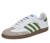 Sneaker 'samba OG' oliv / weiß