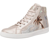 Sneakers gold / rosegold / silber
