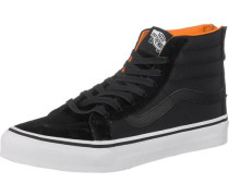 'Sk8-Hi Slim Zip' Sneakers orange / schwarz
