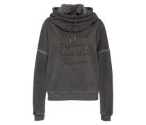 Sweatshirt 'Ride Like' schwarz