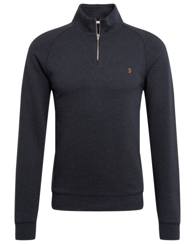 Sweatshirt 'jim 1/4 Zip' navy