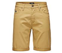 Shorts 'Kelp' gelb
