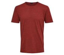 T-Shirt 'Onsalbert' rotmeliert