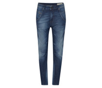 'Fayza' Tapered Denim blau