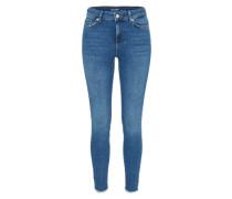 'vmseven Ba388' Skinny-Jeans blue denim