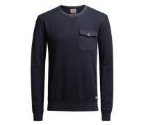 Sweatshirt Rustikales nachtblau