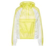 'Celia' transparente Jacke gelb