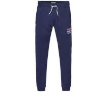 Sweatshirt 'thdm Basic Logo Hknit Pant 20' nachtblau