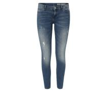 'Minnie' Skinny Jeans blau