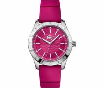Quarzuhr '2000976' pink / silber