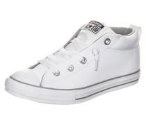 Chuck Taylor All Star Street Mid Sneaker Kinder weiß