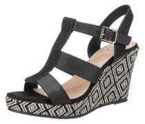 'Bastille' Sandaletten schwarz