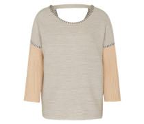Pullover 'Vitotema' beige / grau