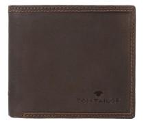 'Terry' Querformat Geldbörse Leder 125 cm braun