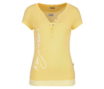 Set: Shirt + Tanktop gelb