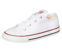 Chuck Taylor All Star OX Sneaker Kleinkinder weiß