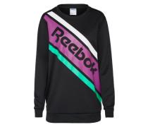 Sweatshirt 'F GR Crewneck' lila / schwarz