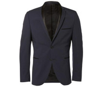 Blazer Slim-Fit- blau