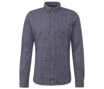 Shirt / Blouse gemustertes Hemd mit Brusttasche