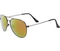 Sonnenbrille goldgelb