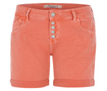 Denim-Shorts 'Pixie' pfirsich