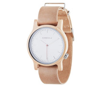 Uhr Wilma Maple/Nude pink
