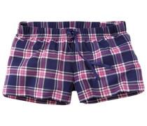 Shorts dunkelblau / pink