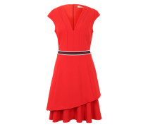 Kleid im Retro-Look rot