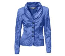Schalkragen-Blazer blau