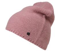'LinksKnit' Mütze rosa