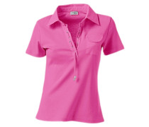Polo-Shirt neonpink