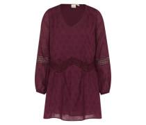 Kleid 'Cali' lila / rot