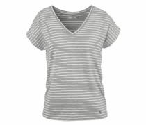 Oversize-Shirt hellgrau