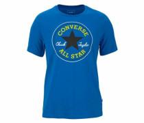 T-Shirt royalblau / gelb / schwarz / weiß