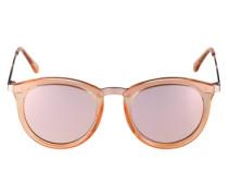 Sonnenbrille 'No Smirking' rosé
