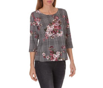 Shirt mit Allover Muster