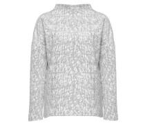 Boxy-Shirt 'Galant' grau / offwhite