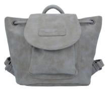 'Maddy Vintage' Rucksack 20 cm grau / rauchgrau