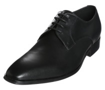 Eleganter Schnürschuh schwarz
