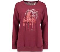 Sweatshirt 'LW Peaceful Pines' burgunder