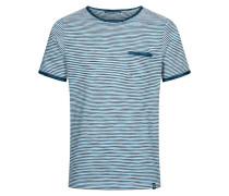 T-Shirt Ringel Mario blau / weiß