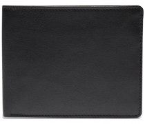 Eurojet Kreditkartenetui Leder 11 cm schwarz