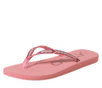 Zehentrenner 'funky' pink