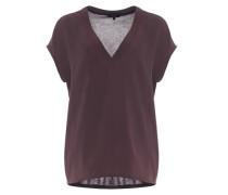 V-shirt 'Silvia' rot