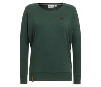 Sweatshirt 'Green Schmusi II' tanne
