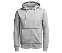 Sweatshirtjacke 'jorstorm Sweat ZIP Hood B' grau