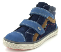 Sneaker Leder blau