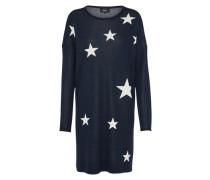 Kleid 'onlKARINNE' dunkelblau / weiß